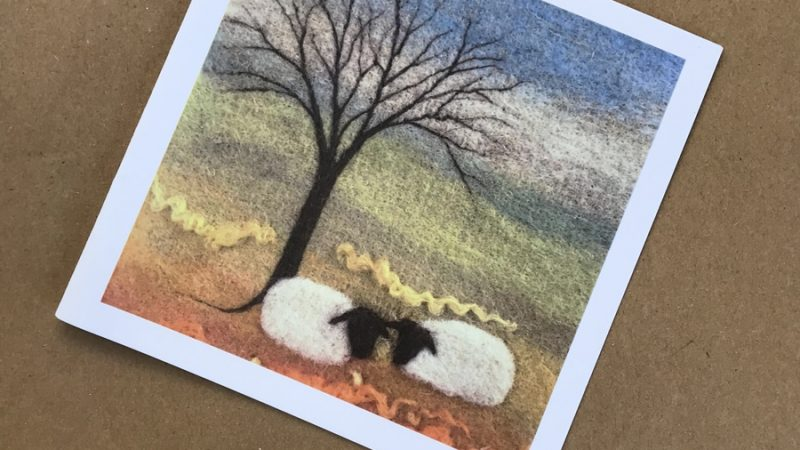 Artworks Christmas Cards.Greeting Cards Annie Brown Prints And Mini Needle Felted